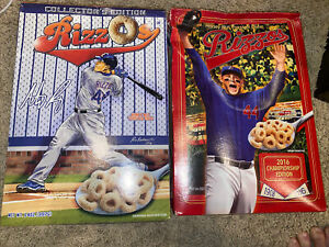 RizzOs Honey Nut Toasted Oats Cereal Set (2) - Chicago Cubs, NEW SEALED boxes.