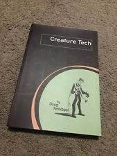Rare Signed Graphic Novel Creature Tech by Doug TeNepal creator of Earthworm Jim