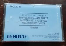Sony 8mm Video Head Cleaning Cassette Tape - V8-6CLHSP - New & Sealed