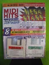MIDI HITS Nr.18 Schürzenjäger  Mega-Stars 8 Songs GM MIDIFILES Neu,orig.verp.