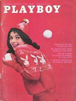 PLAYBOY FEBRUARY 1961 Barbara Ann Lawford Girls of New York J Paul Getty (1)