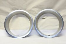 Vintage Car Truck Wheel Stainless Steel Beauty Trim Ring Chevy Ford Mopar Pair