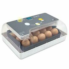 New listing Jumbl Egg Incubator, Automatic Digital Poultry Hatching Machine w/ Temp Control
