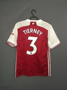 Tierney Arsenal Jersey 2019 2020 Home Kids Boys 15-16 Shirt Adidas FH7816 ig93