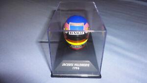 Casco Jacques Villeneuve 1996 F1 Helmet Minichamps 1/8 1:8 Box