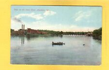 Appleton,WI Wisconsin View on the lower River used 1909