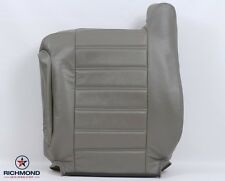 2005 2006 2007 Hummer H2 SUV SUT -Driver Side Lean Back Leather Seat Cover Gray