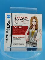 jeu video notice BE nintendo DS FRA la maison du style