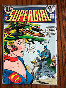 SUPERGIRL #8 VG, DC Comics 1973