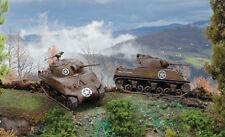 ITALERI 7518 - 1/72 US m4a3 Sherman 75mm 2er Set (WWII/2. guerra mondiale) - NUOVO
