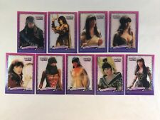 XENA WARRIOR PRINCESS SERIES 3 Topps 1999 Complete INCARNATIONS Chase 9 Card Set