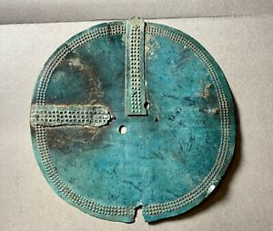 Ancient breastplate, 12-14 century, Finno-Ugric, authentic, found in the ground.