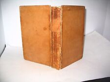 BLOSS' ANCIENT HISTORY WITH COLORED MAPS VINTAGE HTF FIRST ED. LEATHER BOOK 1845