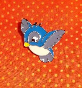"BLUE BIRD pin 1"" x 1"" perfect accessory for Disney dolls like Snow White"