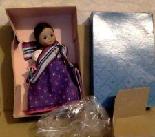 "Vintage Doll. Madame Alexander Miniature Showcase Doll. Laos. 8"". MIB. #525"