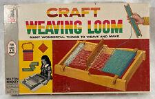 Vintage 1962 Milton Bradley Craft Weaving Loom. Nice!