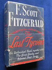 THE LAST TYCOON by F SCOTT FITZGERALD - SIGNED by Hollywood Agent H.N. SWANSON