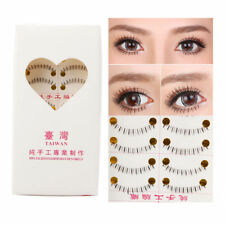 10 Pairs Handmade Lower Under Bottom Natural Fake False Eyelashes Eye Lashes Hot
