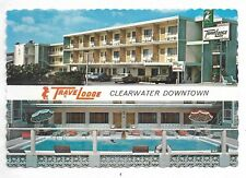 CLEARWATER, FLORIDA Travel Lodge  continental size postcard