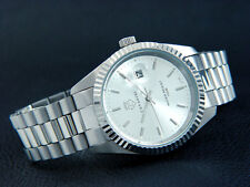 Leonardo from Cavadini Case & Band Solid Stainless Steel New Series Silver/Index