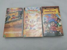 An American Tail 1, 2 And 3 Vhs Bundle