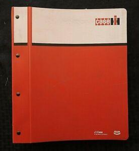 1979-1983 GENUINE CUSTODIA IH 4890 TRACTOR PARTS CATALOG MANUAL W/BINDER NICE