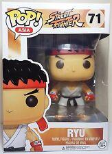 Funko Pop Asia Ryu # 71 Street Fighter Vinyl Figure Brand New