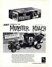 1965 MUNSTER KOACH ~ ORIGINAL AMT MODEL AD