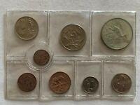 Südafrika, 1972, Kürsmünzensatz, KMS, mit 1 Rand Silber, stempelglanz !!!