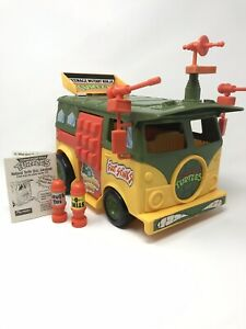 Vintage TMNT Party Wagon Van Vehicle 1989 Teenage Mutant Ninja Turtles Playmates