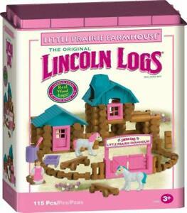 Lincoln Logs - Little Prairie Farmhouse - For Girls NEW and RARE