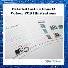 Philips 42PF5520D/10/42PF7521D/42PF3320D/10 Power Supply Kit Réparation