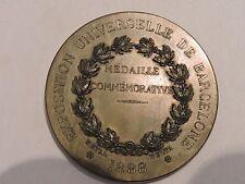MEDAILLE MEDAL EXPOSITION UNIVERSELLE DE BARCELONE 1888