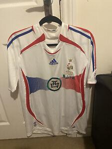 France Away Football Jersey 2006 Adidas Large Classic Vintage/Rare/Retro Shirt