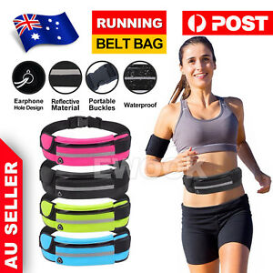 Waterproof Running Belt Bum Bag Travel Waist Bags Money Zip Pouch Sports Wallet