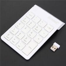 Wireless 2.4G Mini USB 19 Keys Number Pad Numeric Keypad Keyboard For PC Laptop
