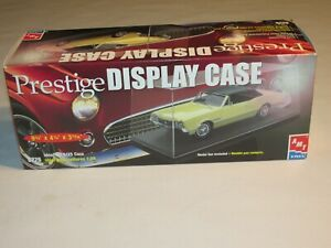 Prestige Display Case For 1:25 Scale Cars, By AMT Ertl, New In The Box!