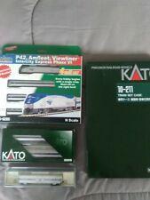KATO 1066285 N AMTRAK PhVI P42, Set 106-6285, Extra cars and case, LQQK AT THIS