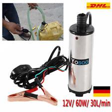 12V Elektrische Ölpumpe Kraftstoffpumpe ÖL Diesel Dieselpumpe 30L/min Auto AI 01