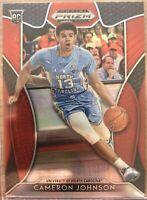 Cameron Johnson RC 2019/20 Panini Prizm Draft Picks Red #76 UNC Phoenix Suns Hot