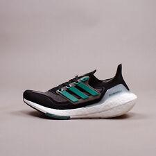 Adidas Running Ultraboost 21 Black Grey Green eqt New Men Shoes gym Rare FZ1923
