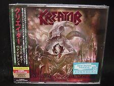 KREATOR Gods Of Violence + 1 JAPAN 2CD + DVD Tormentor Darkness Voodoocult