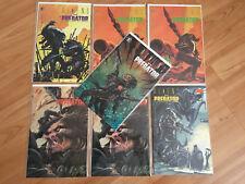 Aliens vs Predator #0 1 2 3 4 COMPLETE SET (1990 Dark Horse)
