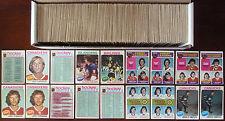 1975-76 NHL O-Pee-Chee Lot of 680 -- Starter Set 327/396