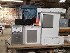 Vw T5/T6 light weight plyfurniture units Vivaro Transit  White Gloss Tambour