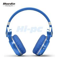 Bluedio Bluetooth 4.1 Stereo T2 Plus T2+ Hi-Fi Wireless Headphone Universal Blue