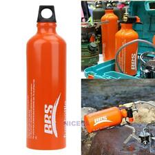 750ml Aluminum Alloy Camping Picnic Fuel Storage Bottle Oil Stove for Flat Tank