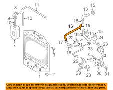 SUZUKI OEM 99-03 Vitara 2.0L-L4 Radiator-Outlet Pipe 1758065D11