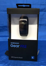 SAMSUNG Gear Fit 2 GPS Sports Band-Taglia Large-Nero
