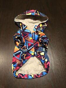 Fuzzyard Prism Raincoat Size 2 (like new condition)